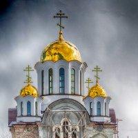 Вновь строящийся храм в честь Святой Троицы :: Александр Малышев