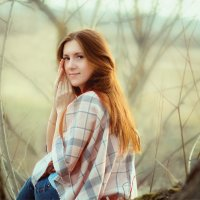 Юный месяц апрель :: Вера Сафонова