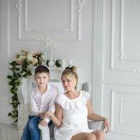 мама и сын :: Ольга Гребенникова