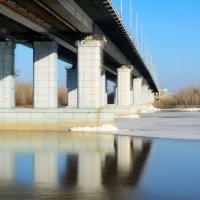 Мост на зеркальной реке :: Сергей Черепанов