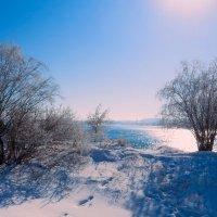 Яркое солнце над Ангарой :: Анатолий Иргл