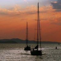 Закат на Сиамском заливе... :: Рустам Илалов