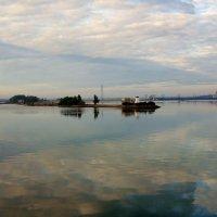 Тихое утро на Каме :: Евгения Корнилкова