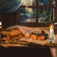Сгорая, плачут  свечи... :: Валентина Колова