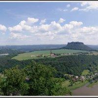 Саксонская Швейцария. Вид из крепости Кёнигштайн. :: Николай Панов