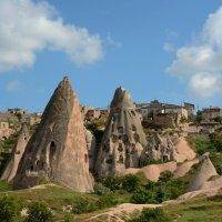 Каппадокийский пейзаж :: Олег Гулли