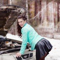 Когда ломается машина... :: Екатерина Лазарева