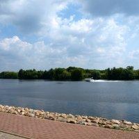 Вид на реку Москва с Коломенского. :: Владимир Драгунский