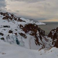 Русло замерзшего водопада :: Galina