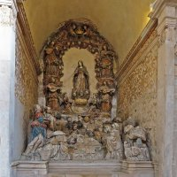 Алтарь монастыря   Санта-Мария де Алкобаса :: ИРЭН@ .