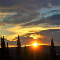За миг до заката :: Сергей Чиняев