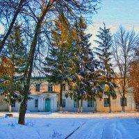 Зимняя  зарисовка :: Анатолий Михайлович