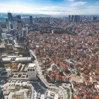 Стамбул с высоты птичьего полета... :: Александр Вивчарик