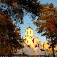 Храм среди сосен :: Александр Прокудин