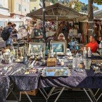 Блошиный рынок в Ницце. :: Владимир Леликов