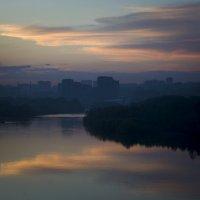 Закат с Бугринского моста :: fotovichka репортажный фотохудожник