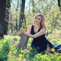 Девушка Весна :: Наталья Дубовая