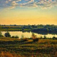 Утро на озере. :: Юрий Фёдоров