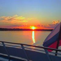 закат на Волге :: aleksandr Крылов