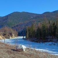 Река под ледяным панцырем :: Анатолий Иргл