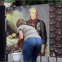 Граф Александр Суворов любил чистоту... :: Роланд Дубровский