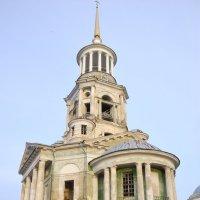Церковь Спаса Нерукотворного Образа в Борисоглебском монастыре Торжка :: Константин Поляков