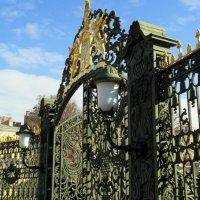 Ворота Шереметьевского дворца :: Агриппина
