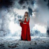 Девушка в дыму :: Екатерина Потапова