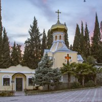 Ялта, Церковь Святого Николая Чудотворца :: Владимир Демчишин