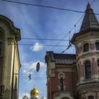 Москва. Купола Зачатьевского женского монастыря ... :: Сергей Козырев