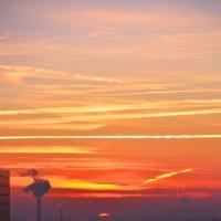 Закат над Москвой :: Christine WildWind