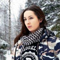Портрет в лесу :: Алексей Подрезов