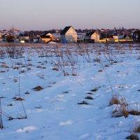 Вечерний посёлок :: Aнна Зарубина