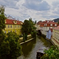 река Чертовка в Праге :: Елена