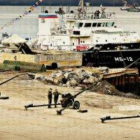Артиллеристы в Арктике :: Кай-8 (Ярослав) Забелин