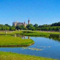 Дворцовый парк и замок (Шверин, Германия) :: Valentina M.