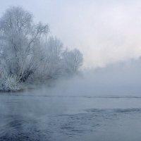 Стоит туман над Енисеем :: Екатерина Торганская