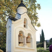 часовня в Ливадийском дворце :: Лидия кутузова