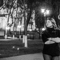 огни ночного города :: Дмитрий Каляев