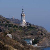 Храм-маяк.Малоречка. :: владимир Баранов