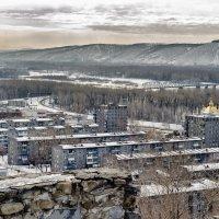 Вид с крепостной горы :: Кирилл Богомазов