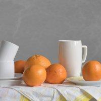 Утро с апельсинами :: Anna Drobyazko