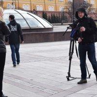 Съемки на Манежной. :: Татьяна Помогалова