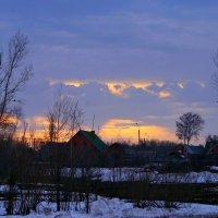 Гаснет вечер, даль синеет ... :: Евгений Юрков