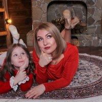 Мамы и дочки :: Людмила Лосева