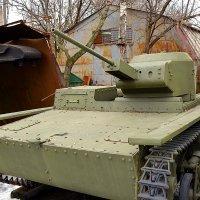 Малый плавающий танк Т-38 :: Владимир Болдырев