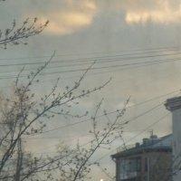 """На закате...""""золотой маяк"""" :: Татьяна Юрасова"""