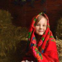 Девочка в сарае :: Анна Гостева