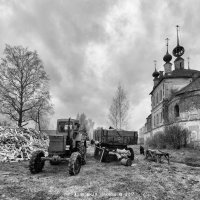Трактор :: Алексадр Мякшин