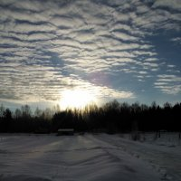Зимний вечер. :: Марина Китаева